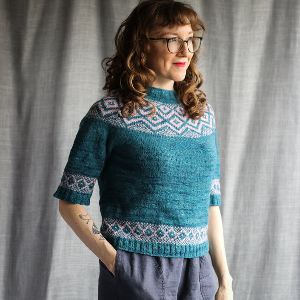 Malahide Sweater - Kit Size 2 to 6 - Port & Embrace Pre order