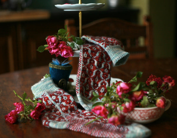 Tea Room Sock Kits - Embers and Micro Manage