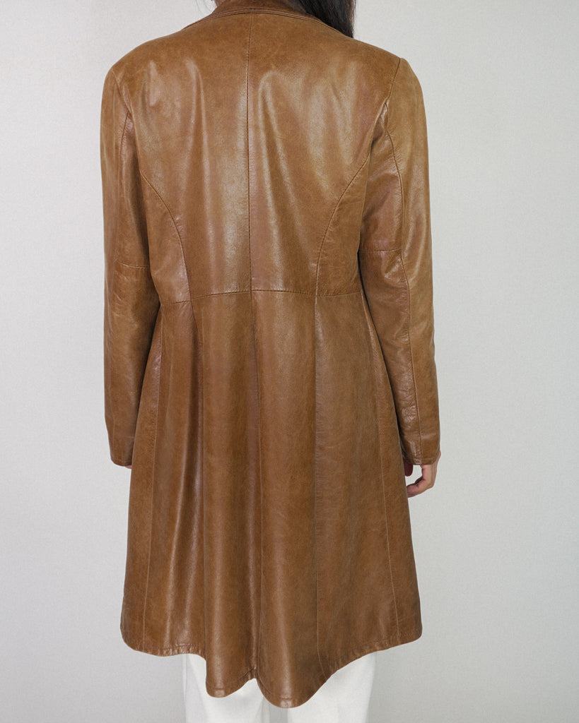 Nancy Drew Leather Coat