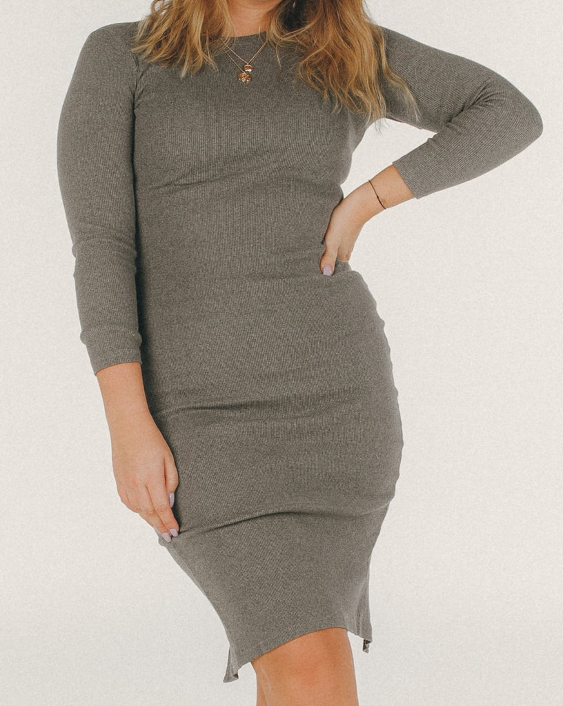 Grey(ceful) Dress