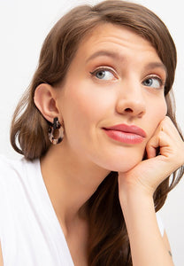 EXCLAiM Acrylic Leopard Earrings - EXCLAiM