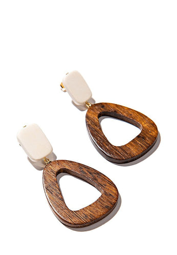 EXCLAiM Wooden Earrings