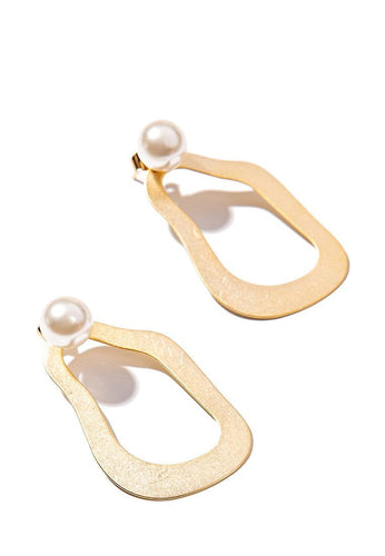 EXCLAiM Pearl Drop Earrings - EXCLAiM