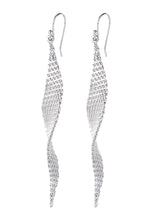 Load image into Gallery viewer, EXCLAiM Drop Earrings Silver