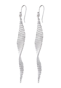 EXCLAiM Drop Earrings Silver