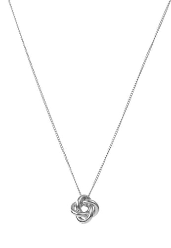 EXCLAiM Pendant Necklace Silver