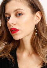 Load image into Gallery viewer, EXCLAiM Long Ball Earrings Gold