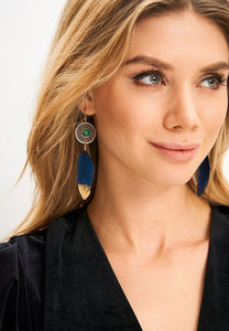 EXCLAiM Moonstone Drop Earrings - EXCLAiM