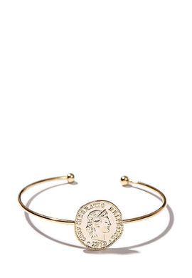 EXCLAiM Coin Bangle Bracelet - EXCLAiM