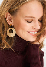 Load image into Gallery viewer, EXCLAIM Acrylic Hoop Leopard Earrings - EXCLAiM
