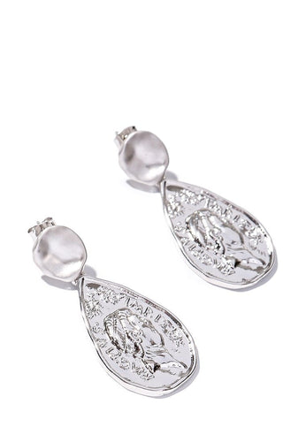 EXCLAiM Drop Coin Earrings - EXCLAiM
