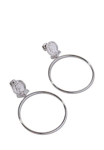 EXCLAiM Hoop Coin Earrings - EXCLAiM