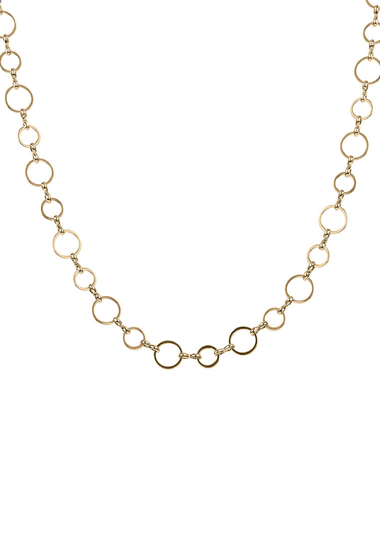 EXCLAiM Chain Choker Necklace Gold