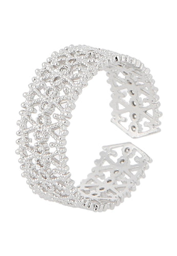 EXCLAiM Openwork Ring - EXCLAiM