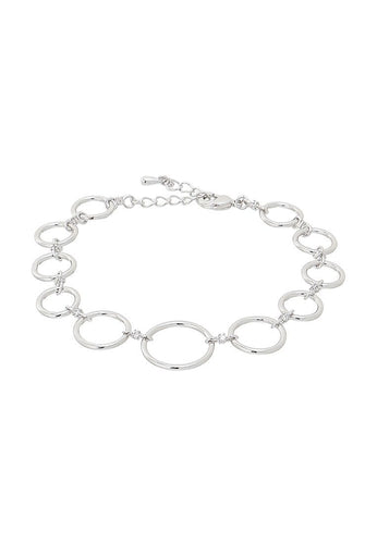 EXCLAiM Chain Bracelet with Crystals - EXCLAiM