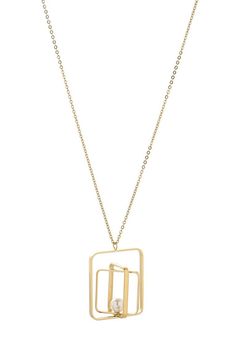 EXCLAiM Negative Space Pendant Necklace - EXCLAiM