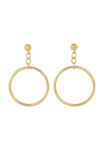 EXCLAiM Large Hoop Earrings - EXCLAiM