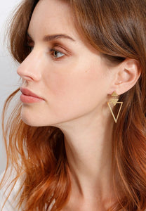 EXCLAiM Geometric Pointy Earrings - EXCLAiM