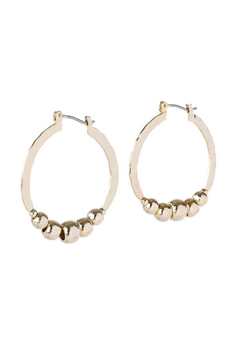 EXCLAiM Ball Hoop Earrings - EXCLAiM