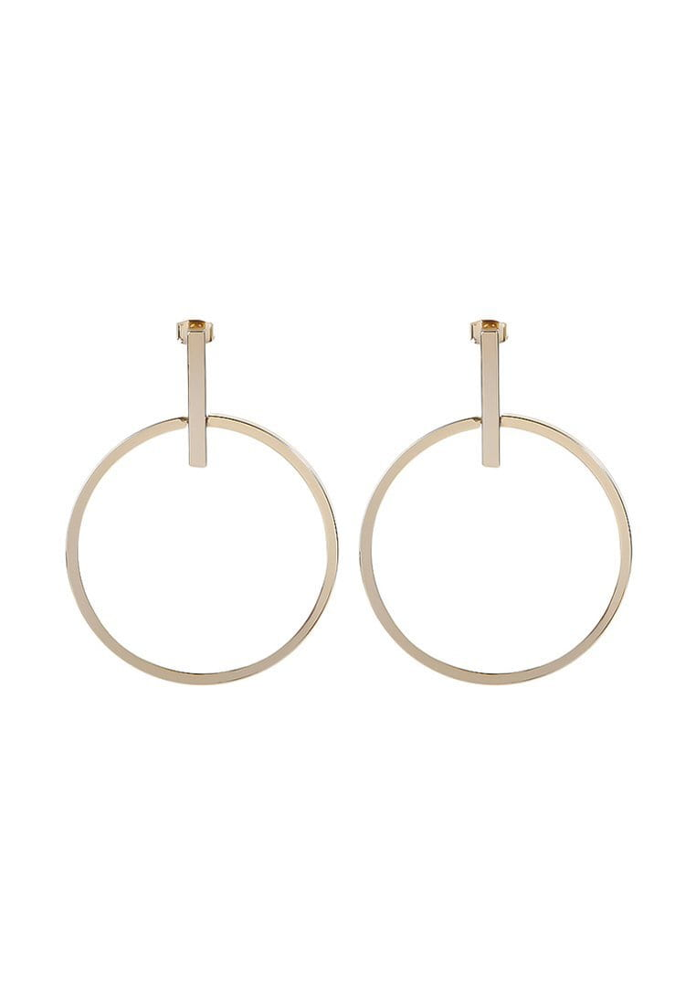 EXCLAiM Geometric Hoop Earrings - EXCLAiM