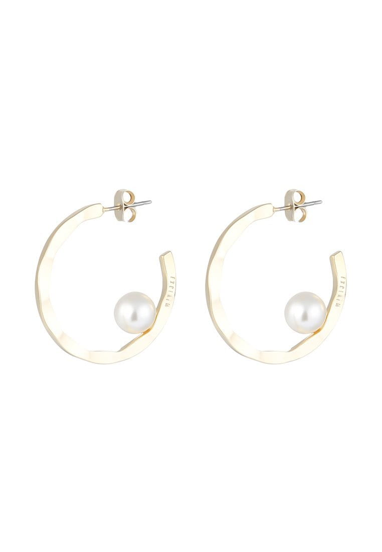 EXCLAiM Hoop Pearl Earrings - EXCLAiM