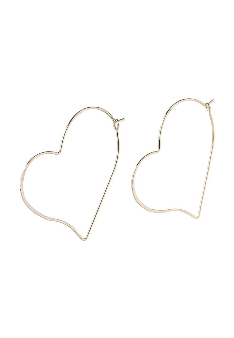 EXCLAiM Large Heart-Shaped Earrings - EXCLAiM