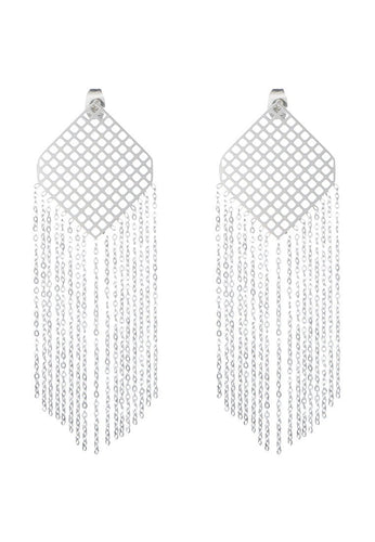 EXCLAiM Long Fringe Earrings - EXCLAiM