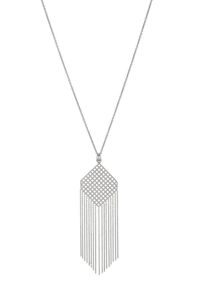 EXCLAiM Fringe Pendant Necklace - EXCLAiM