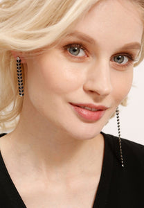 EXCLAiM Long Asymmetrical Earrings - EXCLAiM