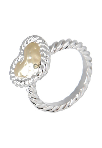 EXCLAiM Heart Ring