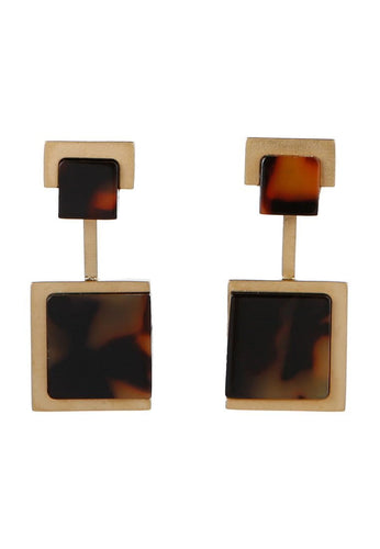 EXCLAiM Acrylic Geometric Earrings - EXCLAiM