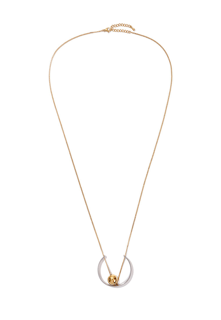 EXCLAiM Long Pendant Necklace