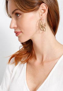 EXCLAiM Flower Earrings - EXCLAiM