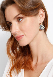 EXCLAiM Acrylic Floral Earrings - EXCLAiM