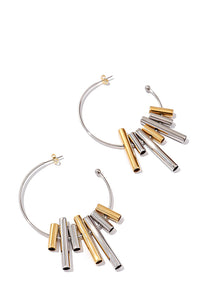 EXCLAiM Hoop Statement Earrings
