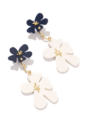 EXCLAiM Acrylic Flower Earrings
