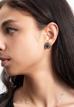 Load image into Gallery viewer, EXCLAiM Blue Crystal Stud Earrings