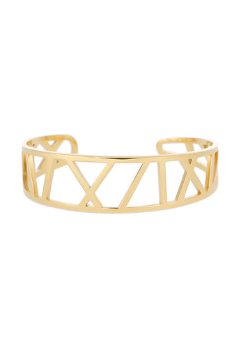 EXCLAiM Geometric Bracelet Gold