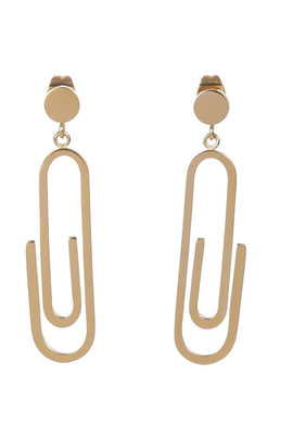 EXCLAiM Paper Clip Earrings - EXCLAiM