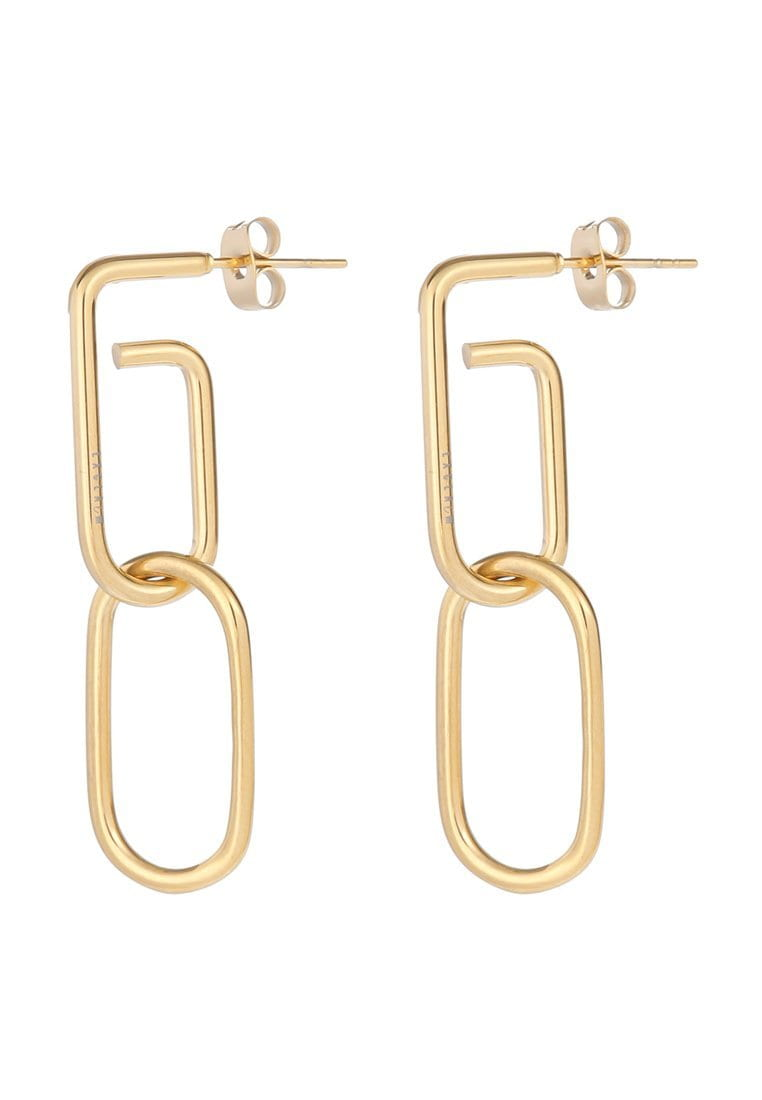 EXCLAiM Paper Clip Pendant Earrings - EXCLAiM
