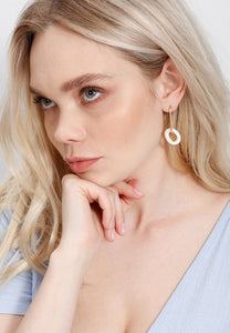 EXCLAiM Mother-of-Pearl Earrings - EXCLAiM