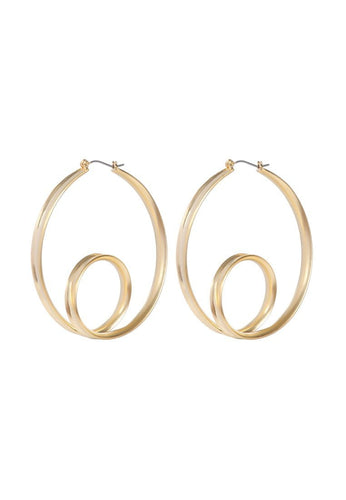 EXCLAiM Double Hoop Earrings - EXCLAiM
