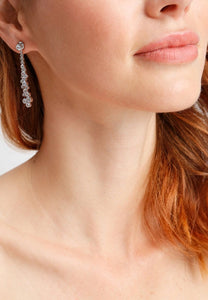 EXCLAiM Long Crystal Earrings - EXCLAiM