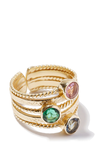 EXCLAiM Color Stone Ring