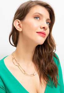 EXCLAiM Necklace Gold
