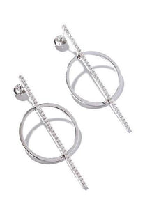 EXCLAiM Hoop Earrings 925 Silver - EXCLAiM