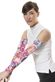 MORE del Sol Print Sun Sleeves- Unisex UPF 50+ lightweight arm protection