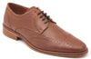Five-Eye Wingtip Tan Leather