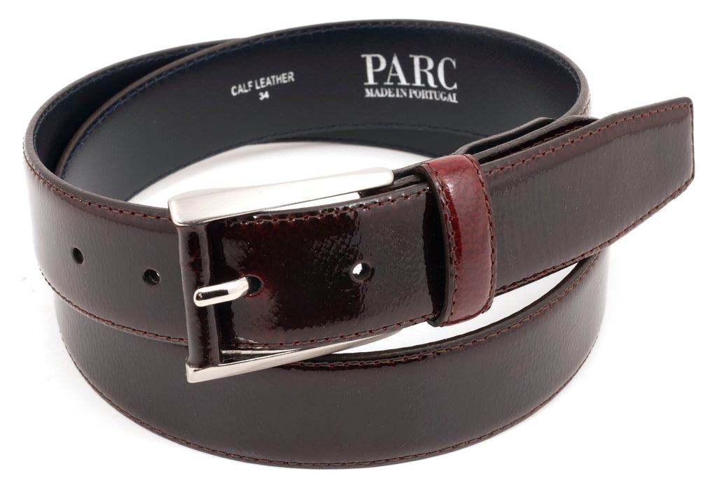 Oxblood Leather Belt