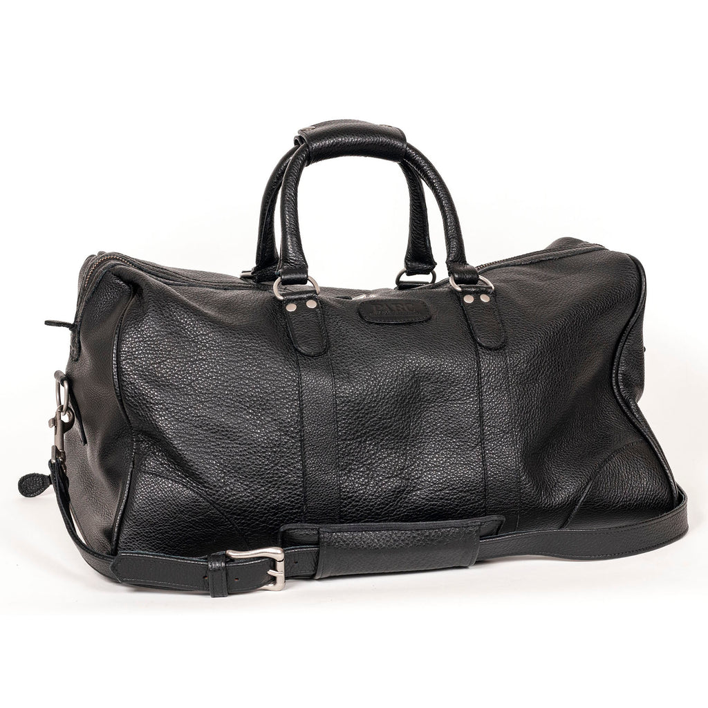 PARC Weekender Duffle in Black Pebble Grain